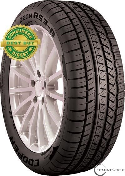 225/50R16 ZEON RS3A 92W BLK COOPER