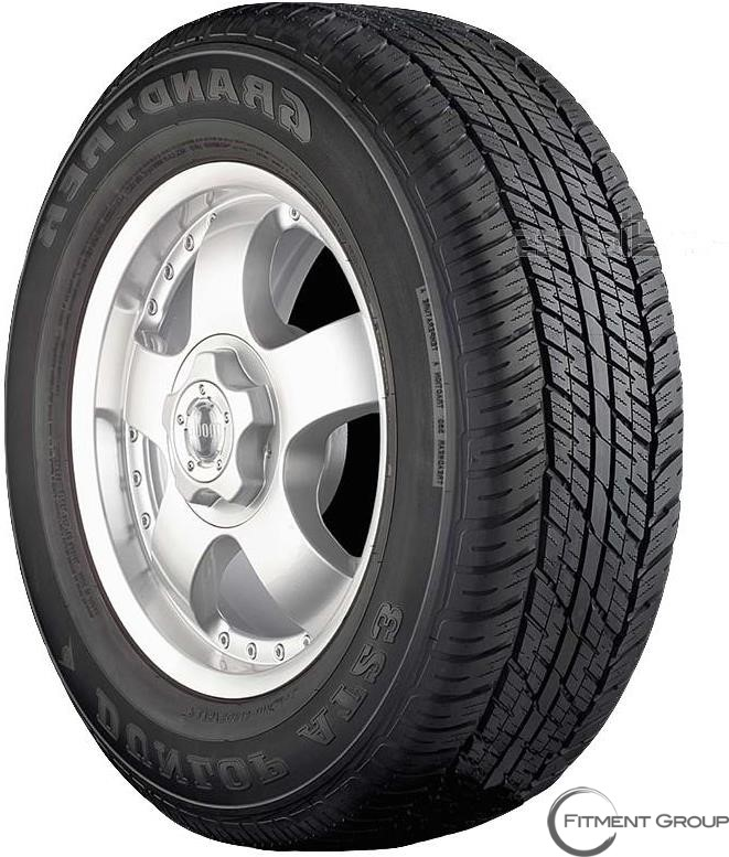 285/60R18 GRANDTREK AT23 116V BW DUN
